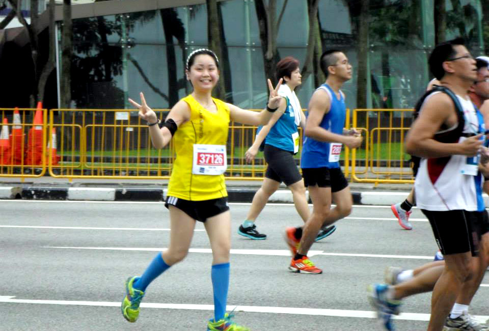 Sim Yan Lin Sets Her Running Sights Down Under