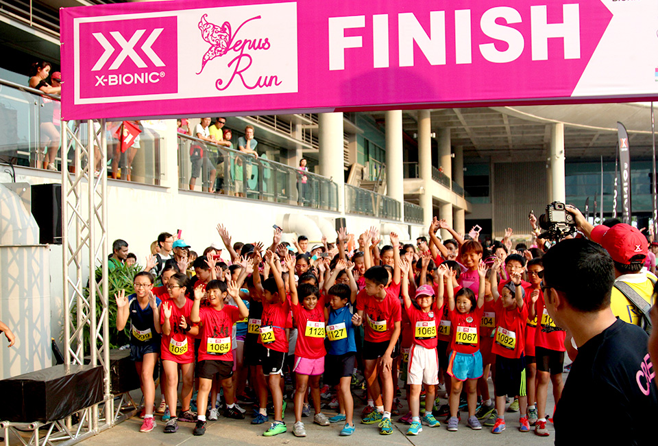 X-BIONIC® Venus Run 2014: What diamonds? Running is MY BEST FRIEND!