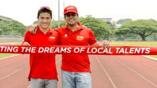 Helping Mok Represent Singapore