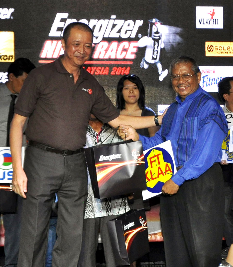 Energizer Night Race 2014: Racing for a Brighter World in Kuala Lumpur