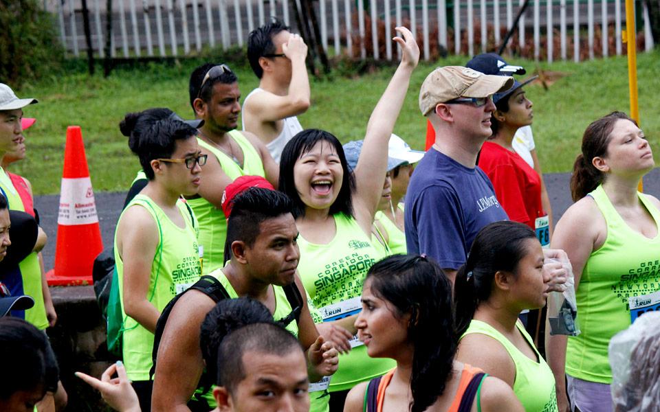 Green Corridor Run 2014: 7,000 Runners Braved the Heavy Downpour