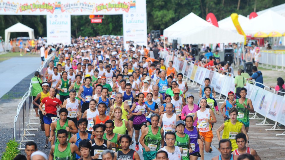 Laguna Phuket International Marathon 2014 Attracts Record Number of Runners to Thailand