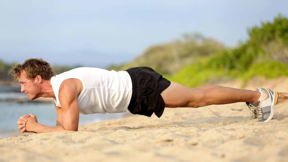 Do the Plank Exercise for a Rock Hard Core!