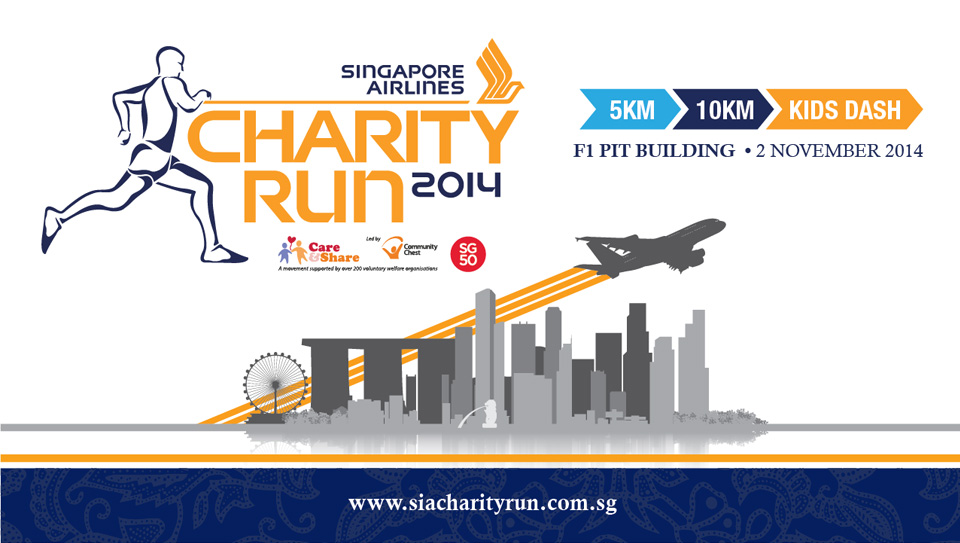 Singapore Airlines Charity Run has a Distinctive and Fun Travel Theme!