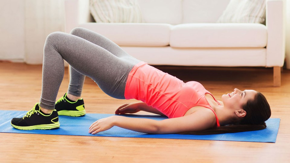 Supine Bridge Exercise Tightens Your Glutes and Strengthens Your Hips