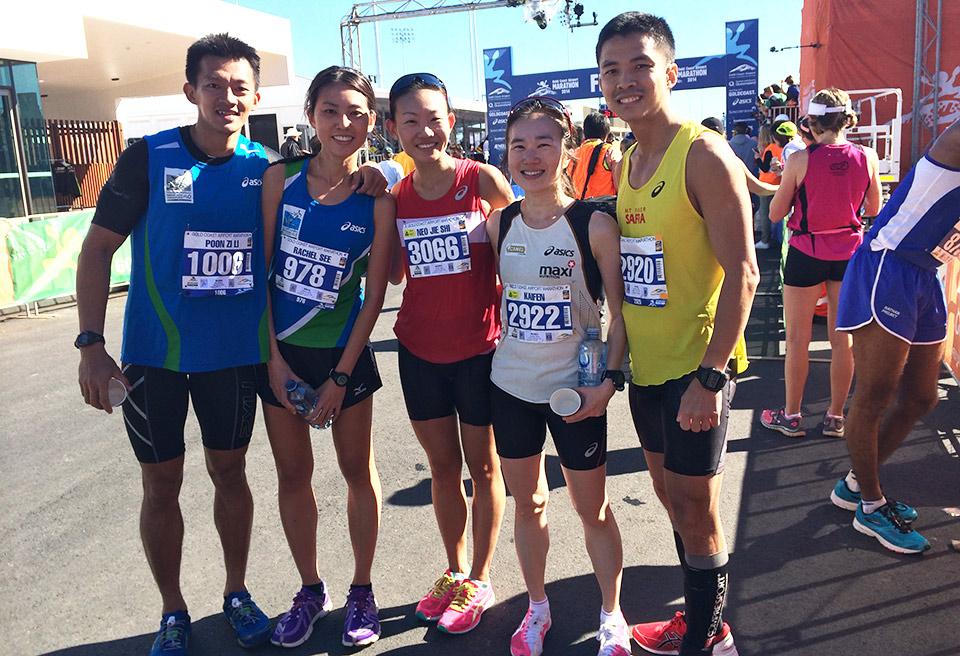From left to right: Poon Zi Li, Rachel See, Neo Jie Shi, Ong Kaifen, Ning Wenlong