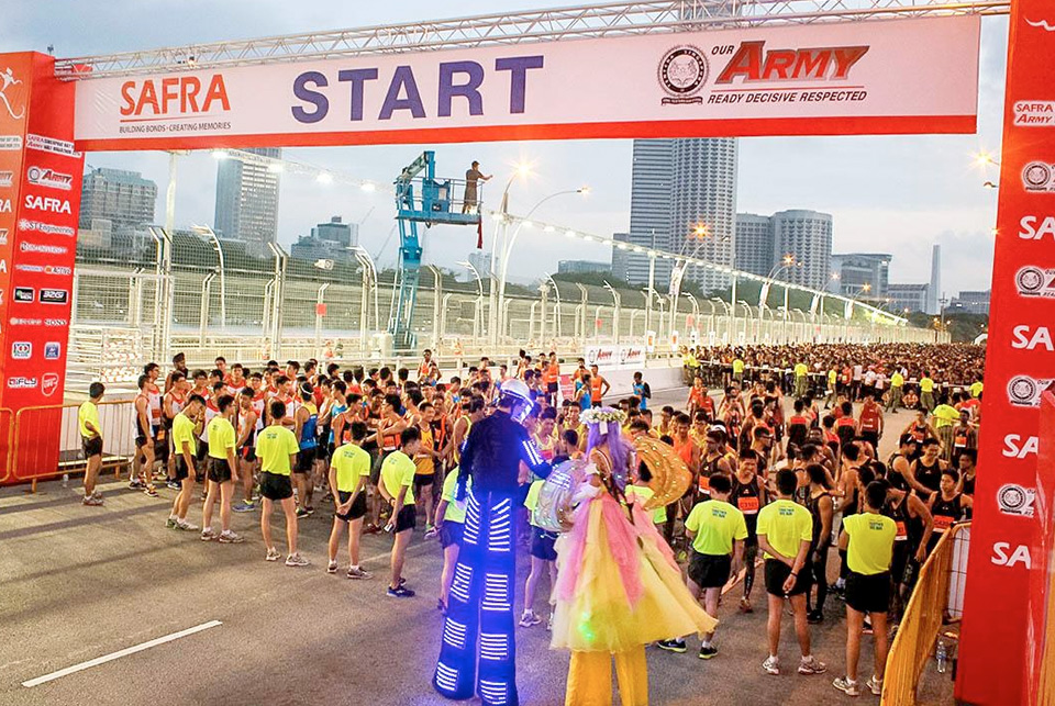 SAFRA Singapore Bay Run & Army Half Marathon 2014: Together We Ran and Heard Our Army Boys ROAR!