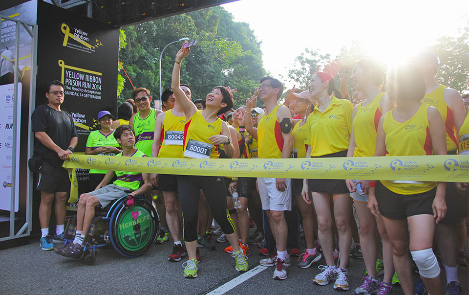 The Yellow Ribbon Prison Run 2014 Saw Runners Rallying Together to Support Acceptance of Ex-Offenders