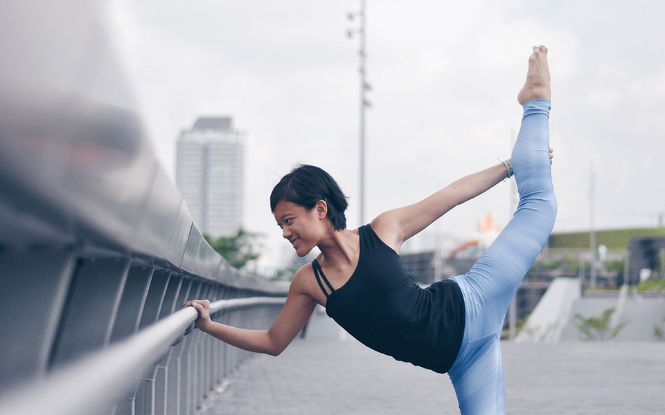 Yoga and Running: How Angeline Yeo Finds True Bliss by Combining the Two