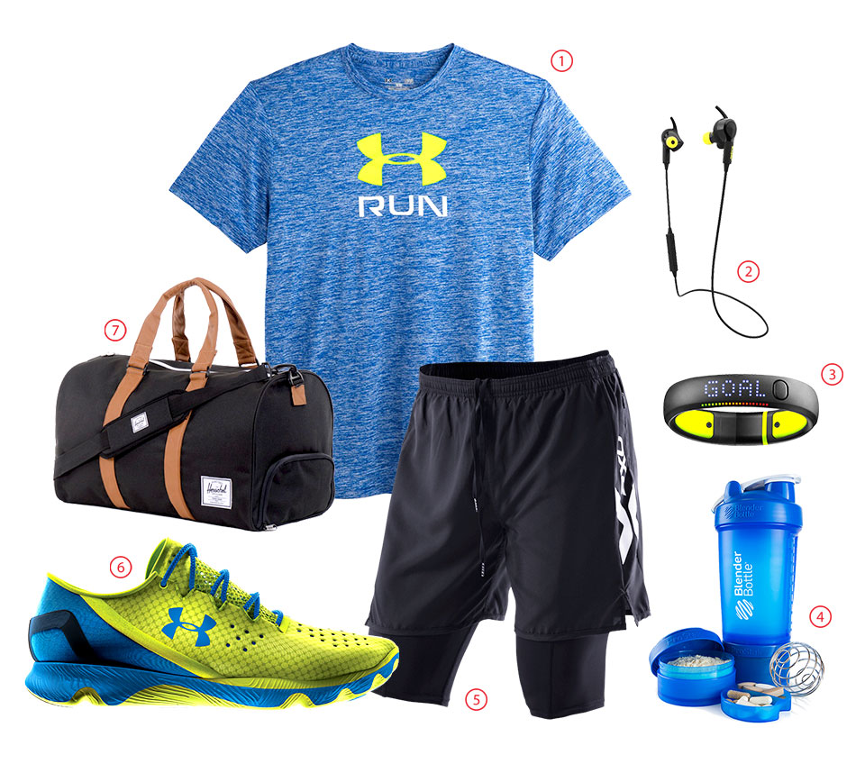Outfit of the Week: Have a Blast at the Gym with this Outfit for Men!