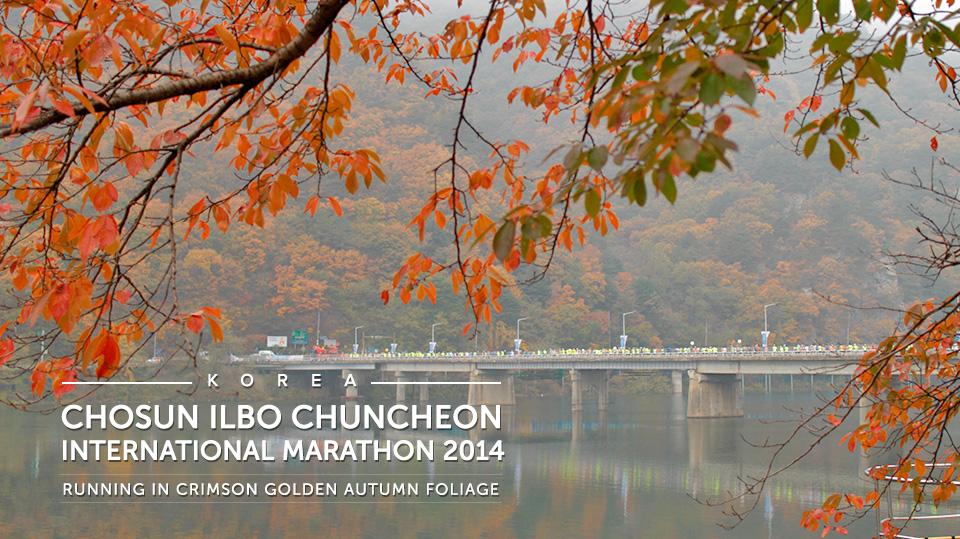 Chosun Ilbo Chuncheon International Marathon 2014 Race Report: Running Tour in Autumn Foliage