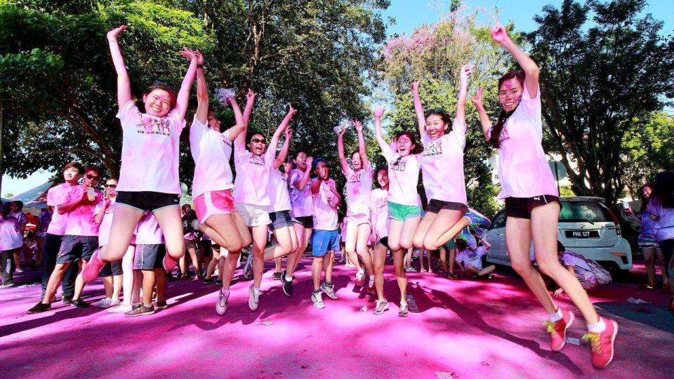 Paint the Town Rainbow at the Penang Rainbow Run