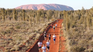 Feel the Red Earth: Australian Outback Marathon
