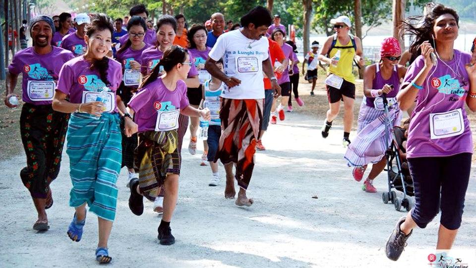 SG50 Lunghi Run 2015