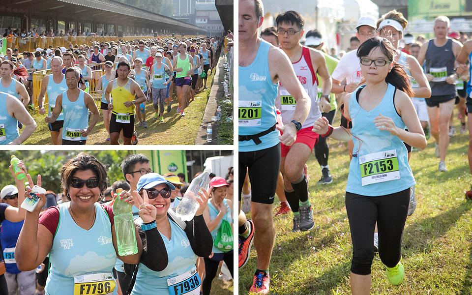 The Green Corridor Run 2015: Waste Sweat Not Water
