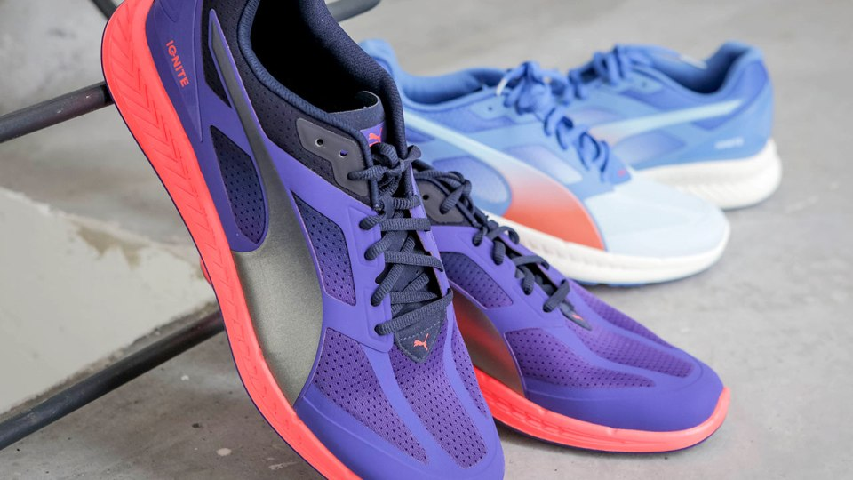 tired Familiar Agnes Gray  PUMA IGNITE Running Shoes: How We Were Energised By These Amazing Kicks!