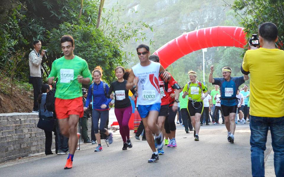 Behold Impressive Karst Lands & Crystal Clear Lakes at the Yunnan • Puzhehei International Marathon
