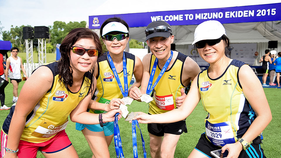 First-Ever Mizuno Ekiden Race in Singapore Transports Runners to Japan!