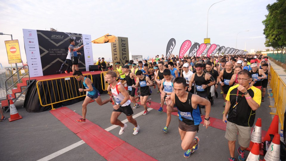 Competitive Runners Go for Personal Best at 2XU Compression Run