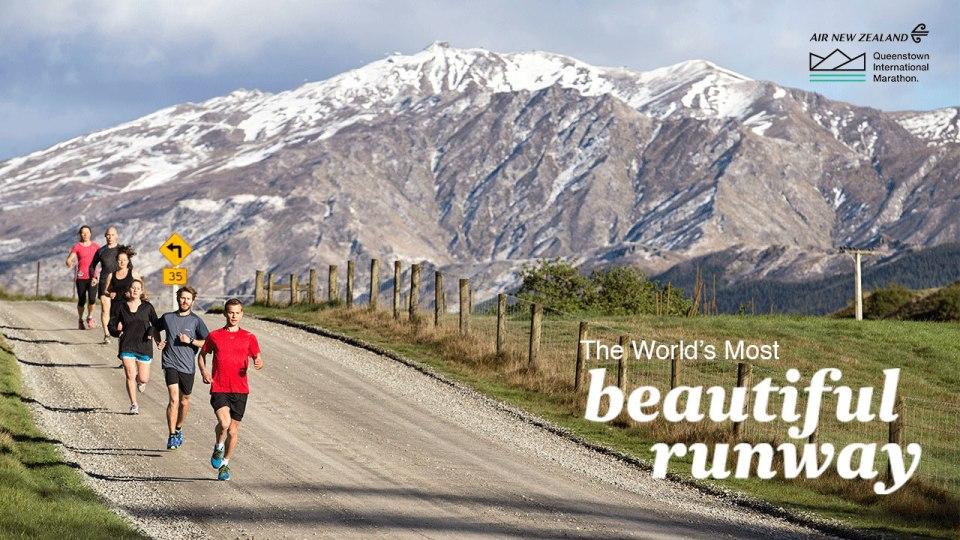 The Air New Zealand Queenstown International Marathon 2015: Win a Trip to The World's Most Beautiful Runway