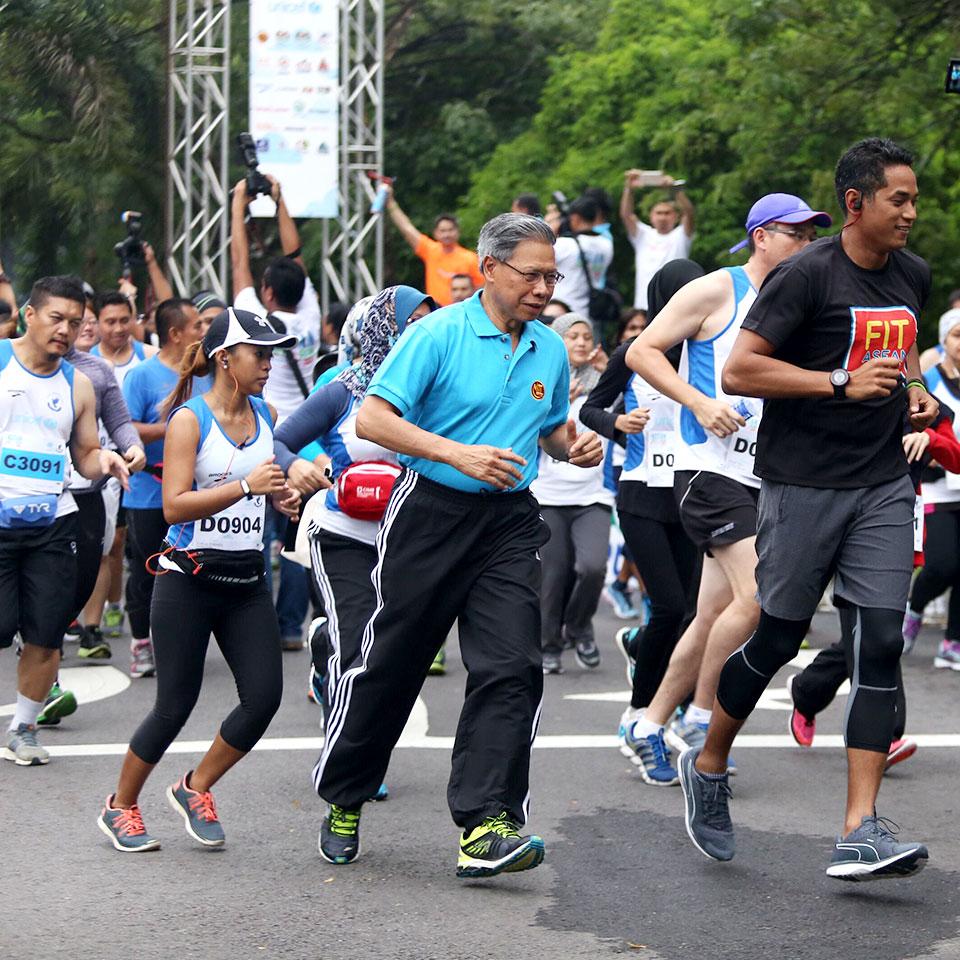 Inaugural ASEAN Unity Run Embracing Unity, Community and Harmony