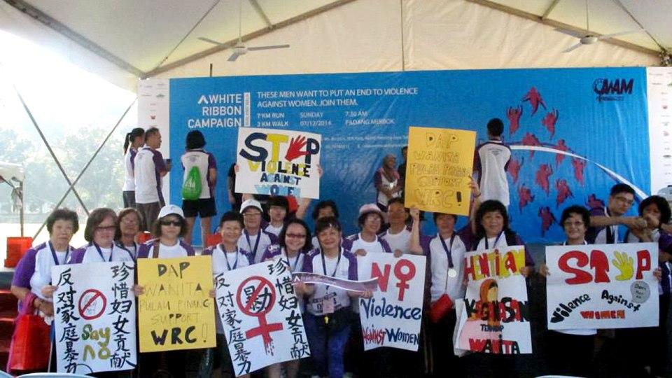 White Ribbon Run 2015: Break the Silence, End the Violence