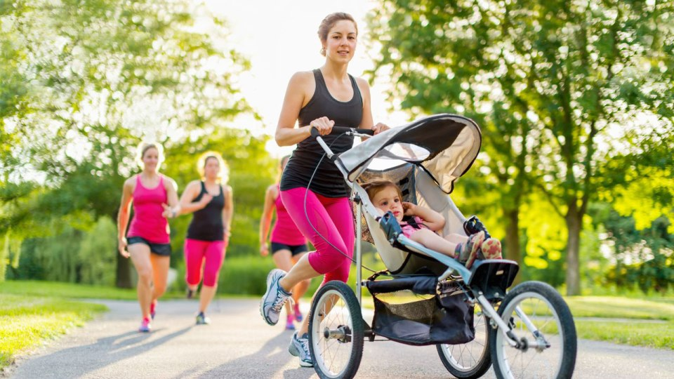 Oh, Baby—Your Mum Looks Awesome Running Behind Your Stroller!