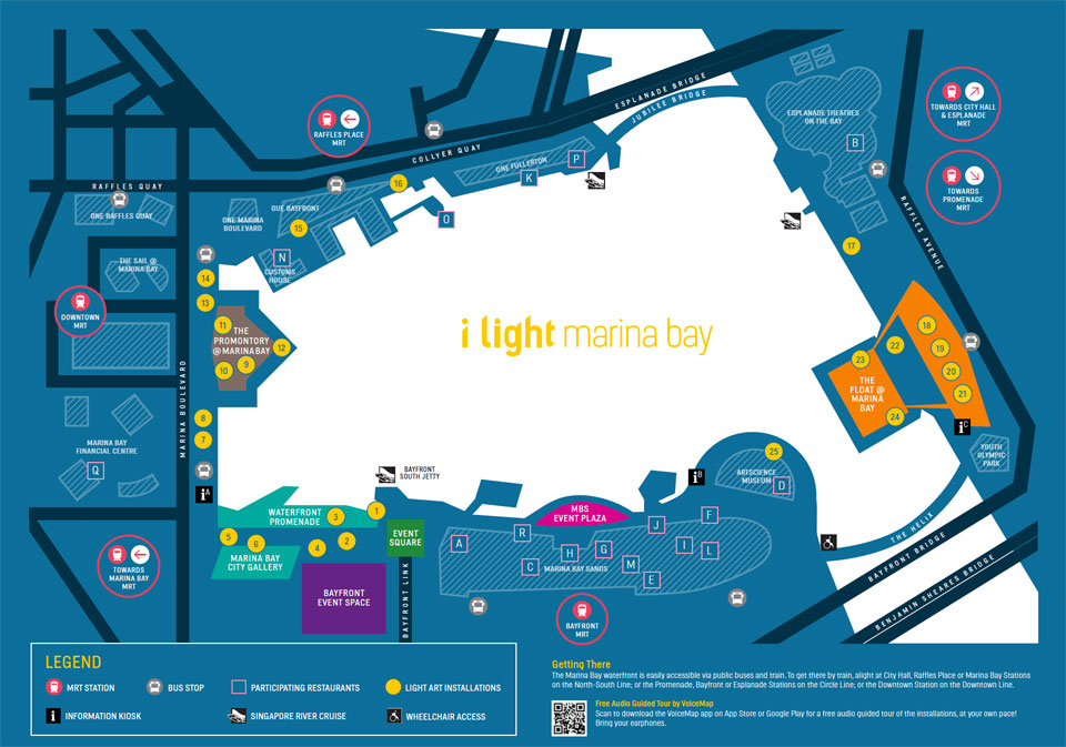 Visit The i Light Marina Bay After Your Evening Run!