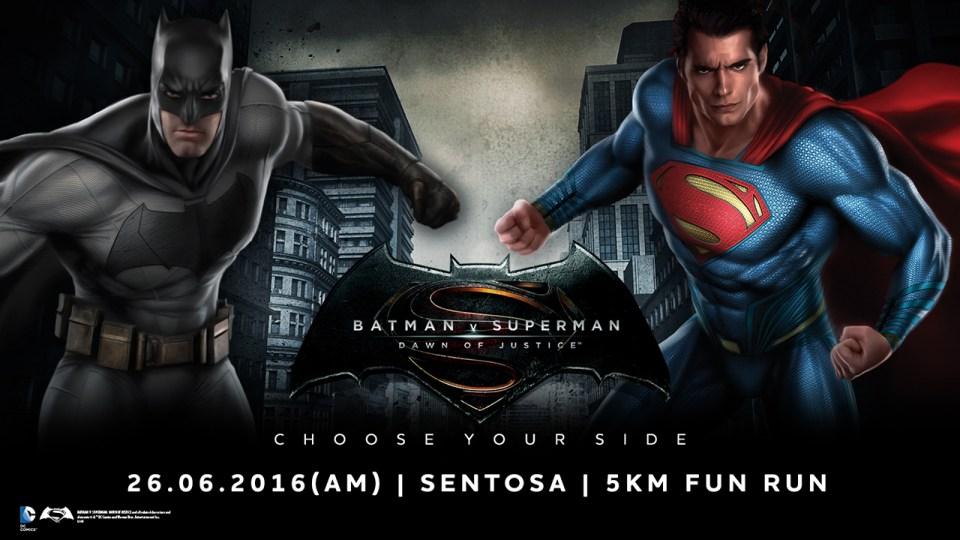 Batman V Superman Run 2016