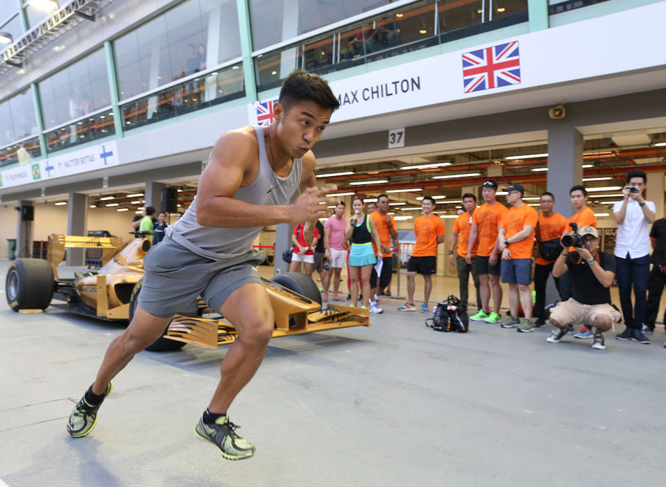 Can You Run Faster Than A F1 Driver?