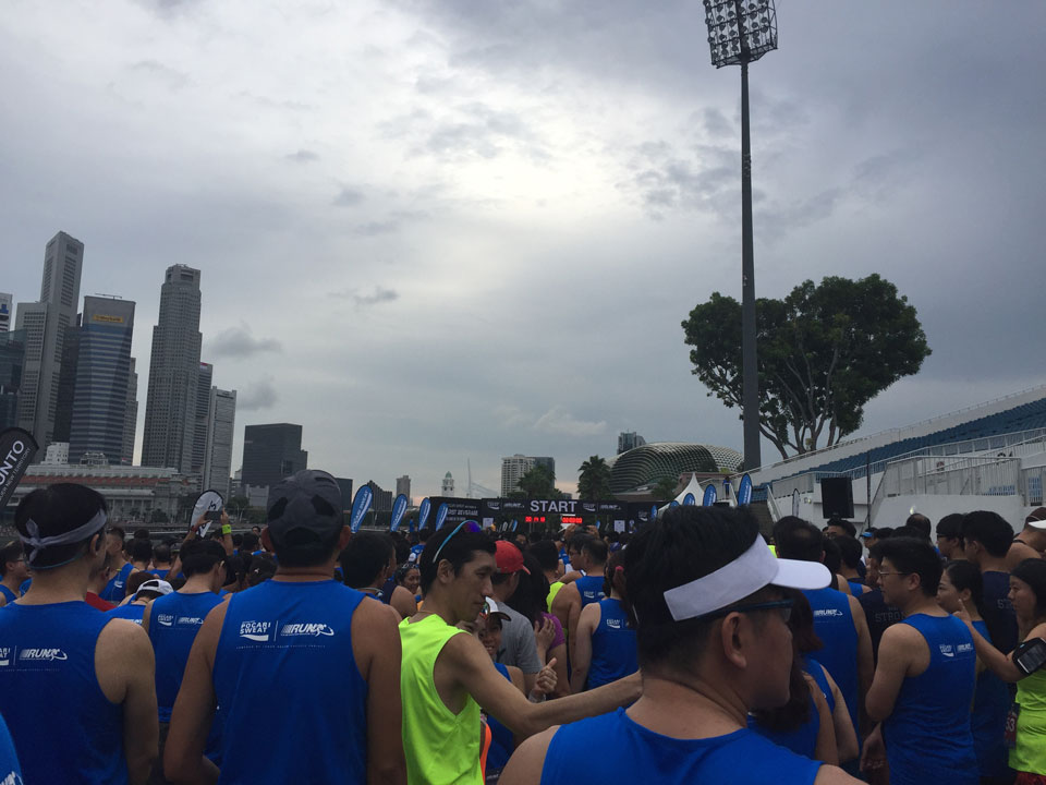 Fly Me to The Moon: The Pocari Sweat Run 2016