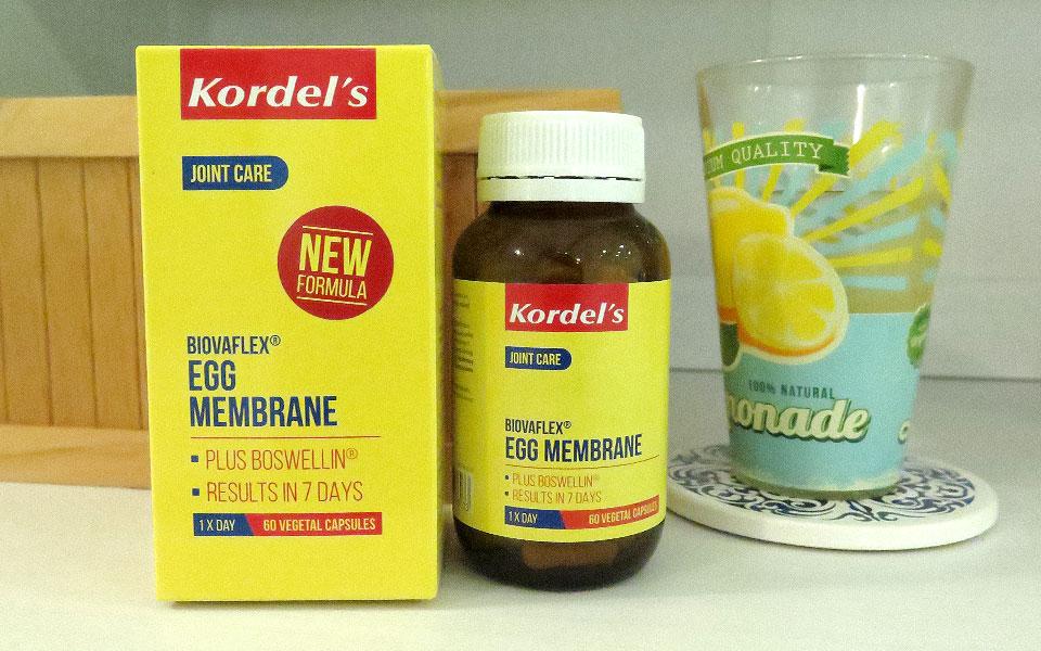 I Want to Protect My Knees So I Tried Kordel's BiovaFlex® Egg Membrane