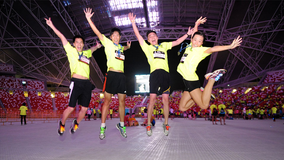ASICS City Relay Singapore 2016: Together Everyone Achieves More