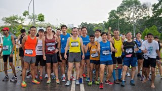 It's Up to You: Make the One-north Run a Personal Best or Child's Play