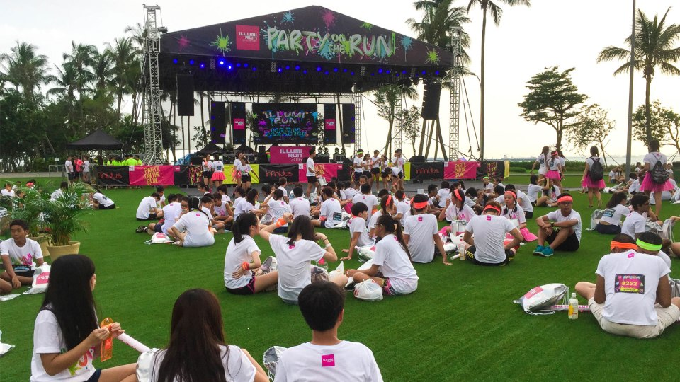 Illumi Run 2016: Run, Jump, Sing and Dance Your Heart Out