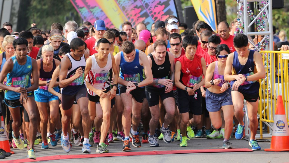 It Wouldn't be January if Singapore's Race Calendar Didn't Include Marina Run 2017