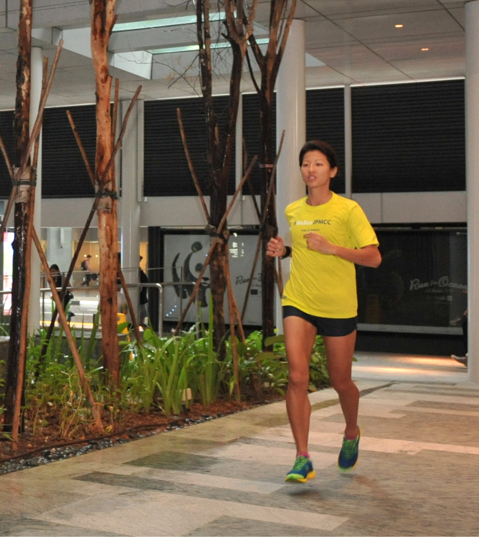Meet Jenny Lem: CEO (Chief Exercise Operator) at J.P. Morgan's Corporate Challenge 2017