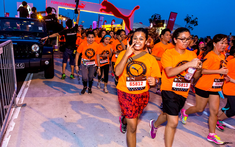 The Puma Night Run Singapore Could Enhance Your Health Again!