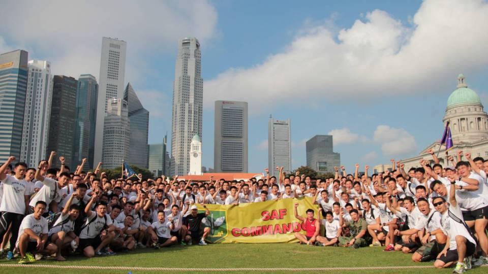 SAFRA Singapore Bay Run & Army Half Marathon 2017 Introduces New NS50 Team Run Category