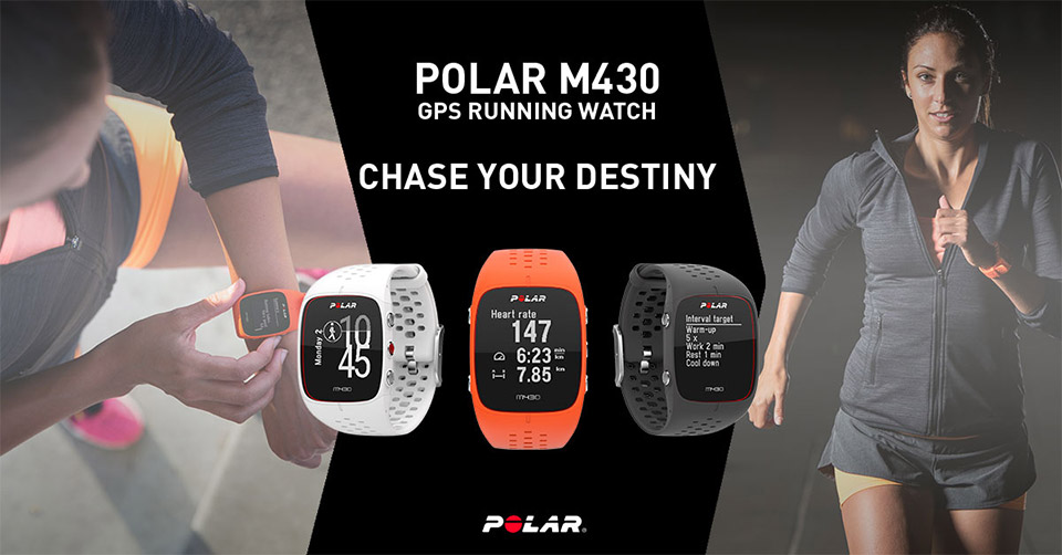 "Can't Afford an Olympic Running Coach? ""Hire"" a Polar M430 Instead!"