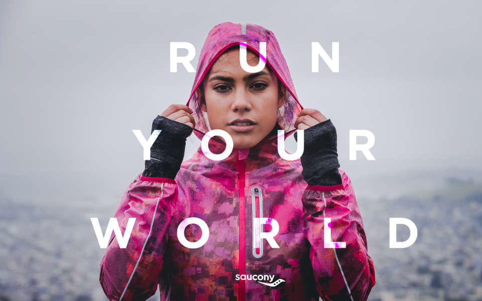 "Saucony Launches ""Run Your World"" Global Brand Platform"