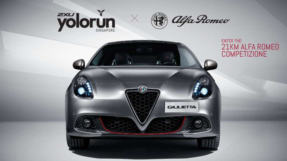 2XU YOLO Run SG and Alfa Romeo Team Up for a Half-Marathon Car Giveaway