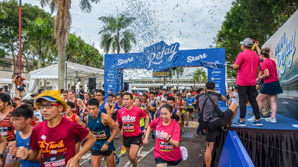 ASICS Relay Singapore 2017 Review