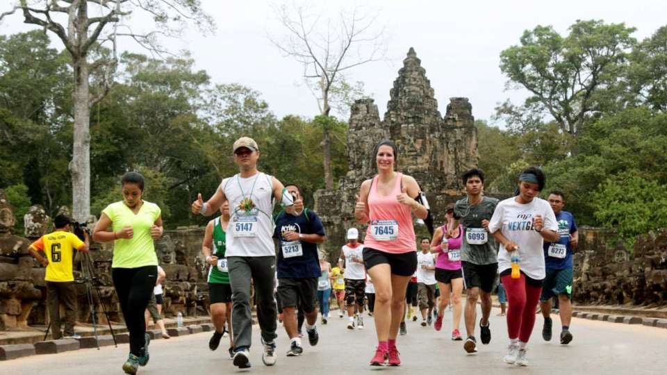 22nd Angkor Wat International Half Marathon Sees Record Number Of Runners