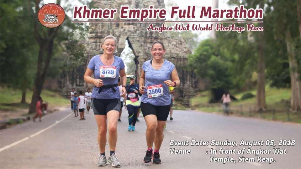 Khmer Empire Marathon 2018