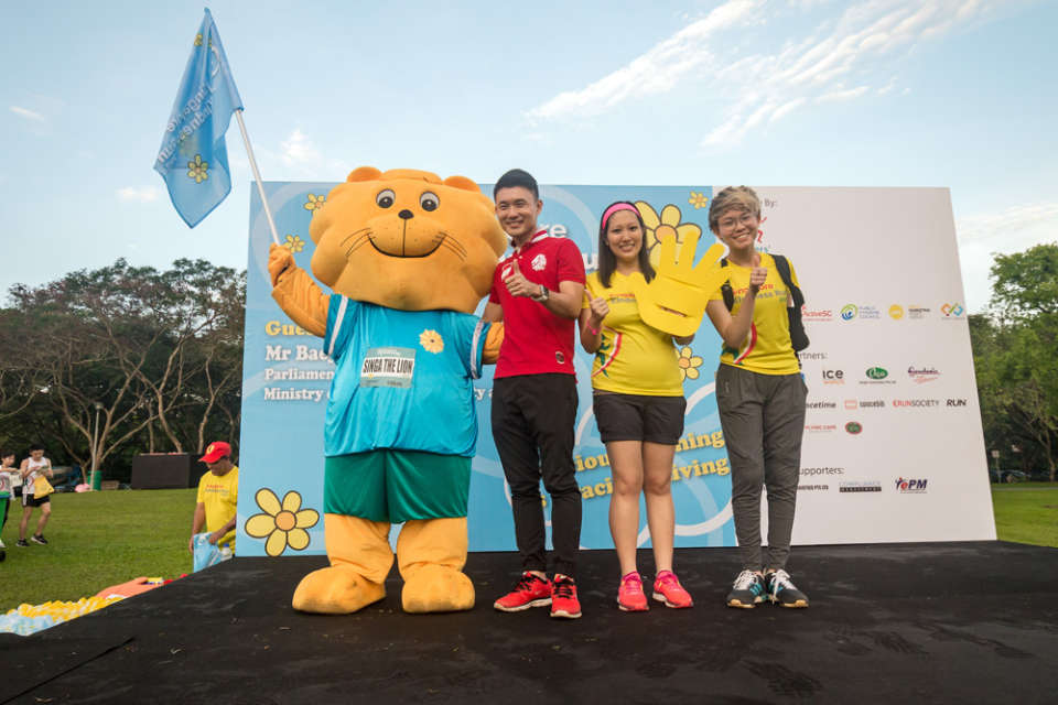 Singapore Kindness Run 2018: Put Your Kindness Where Your Feet Are!