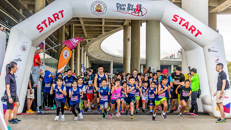 Top 10 Singapore Running Events Of 2017 - CSC run by the bay