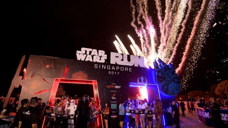 STAR WARS™ RUN Singapore 2018
