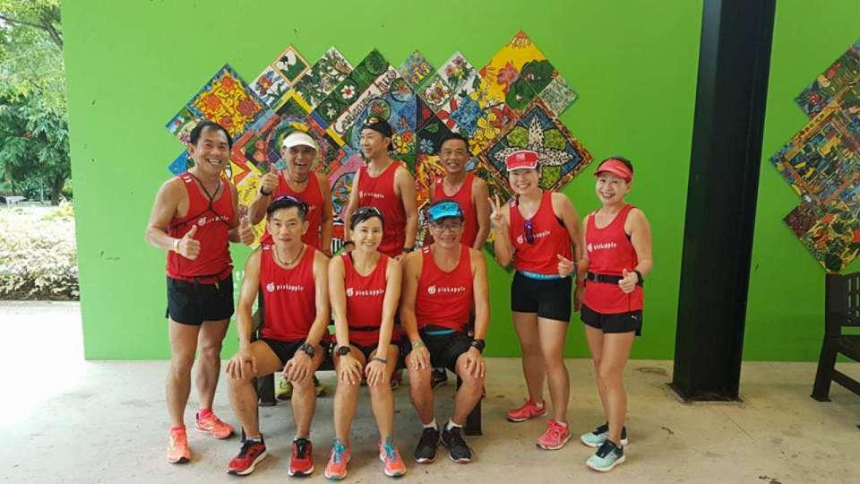 Team Pink Apple Runners