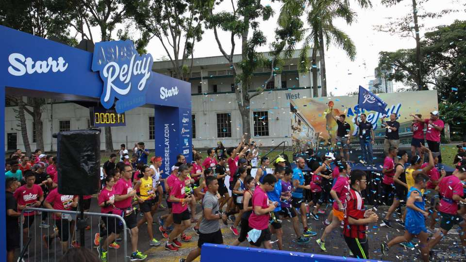 Run on Island Time at the ASICS Relay Philippines 2018